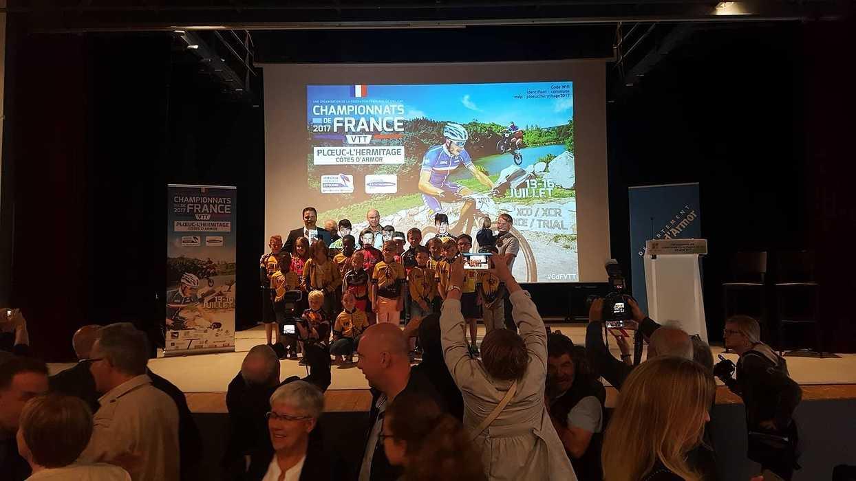 Soirée de présentation officielle du championnat de France de VTT 0