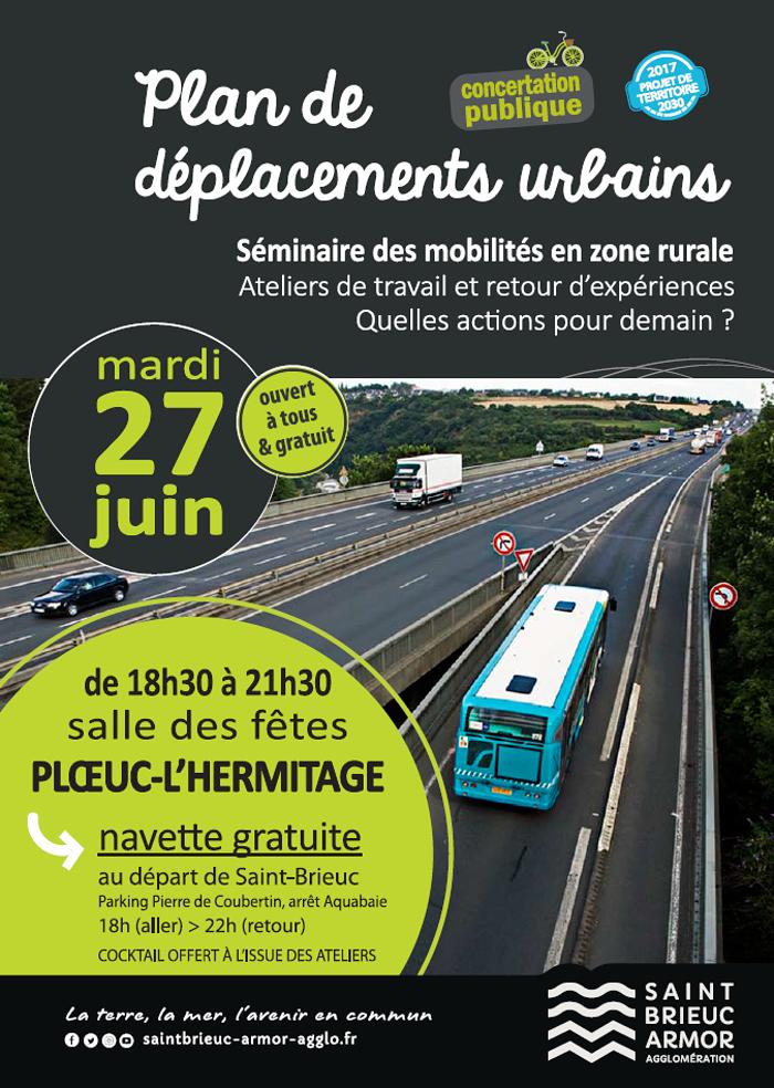 Un séminaire sur les transports en zone rurale le 27 juin 0