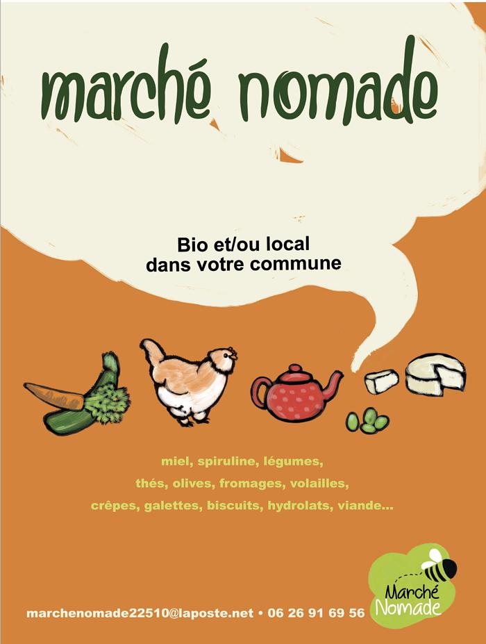 Marché nomade et boutique culturelle 0