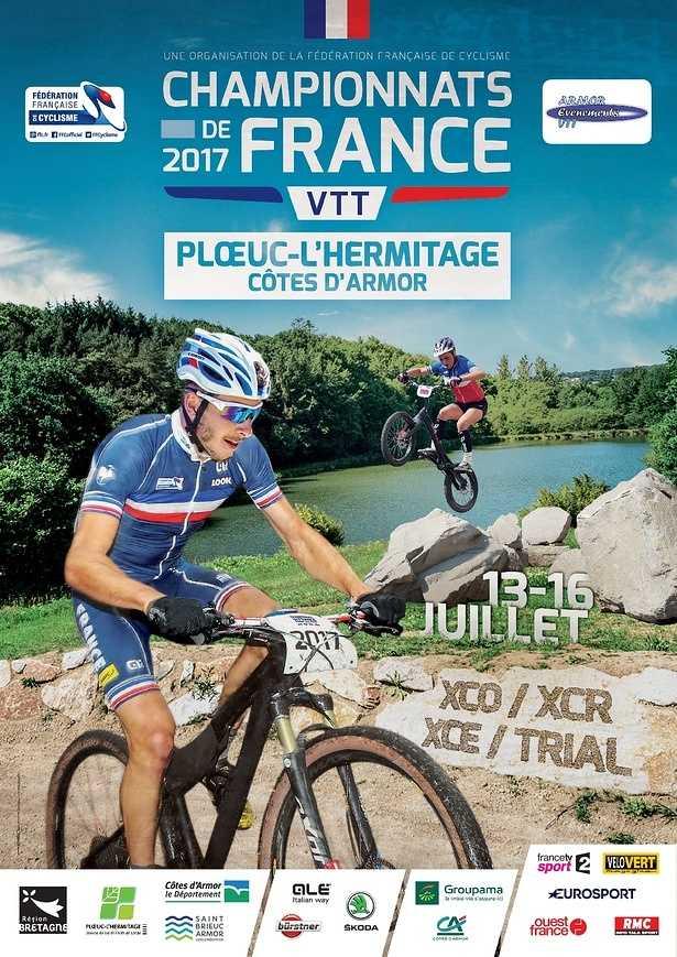 Championnats de France de VTT 2017