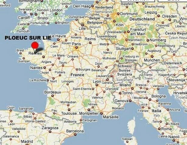 La commune de Ploeuc-sur-Lié