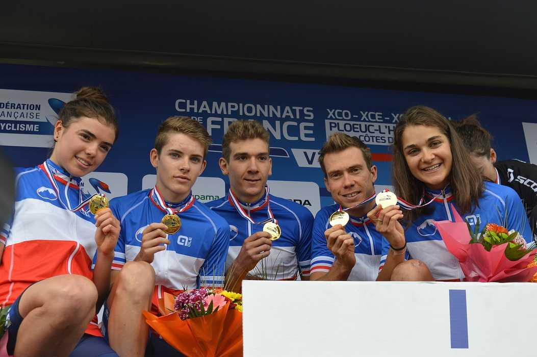 RESULATS Championnats de France de VTT 0