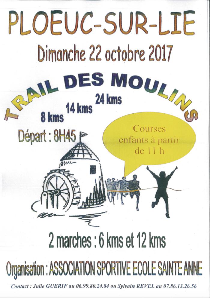 TRAIL DES MOULINS DIMANCHE 22 OCTOBRE 0