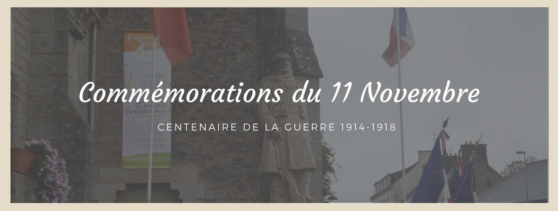 Centenaire de la Guerre 1914-1918 à Plœuc-L''Hermitage 0