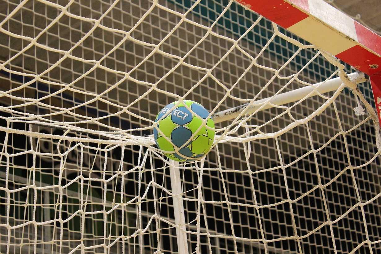 match de handball a ploeuc-l hermitage