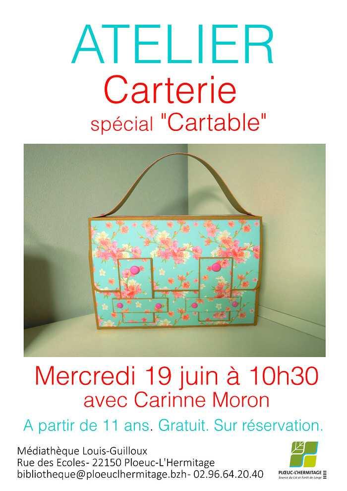 "Atelier carterie ""spécial cartable"" 0"