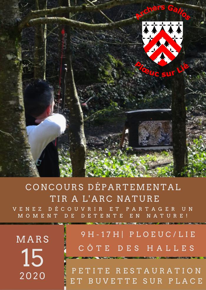 Concours départemental de tir à l''arc nature 0