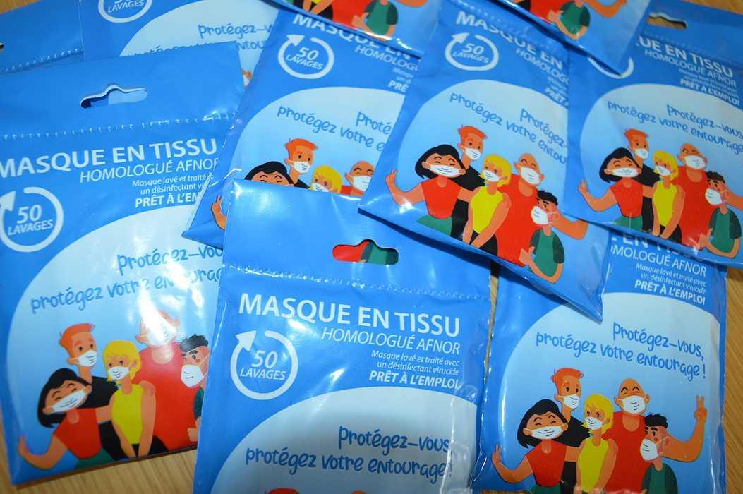 Distribution de masques 0